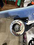 Скейт деревянный, Скейтборд, натуральное дерево , дека 71х20 см, отличное качество качество, цветной, фото 5