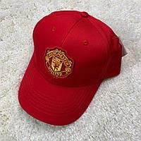 Футбольная кепка Манчестер Юнайтед красная 2020, фото 1