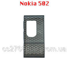 Чехол чохол Silicon Case Nokia 502 + плівка чорний