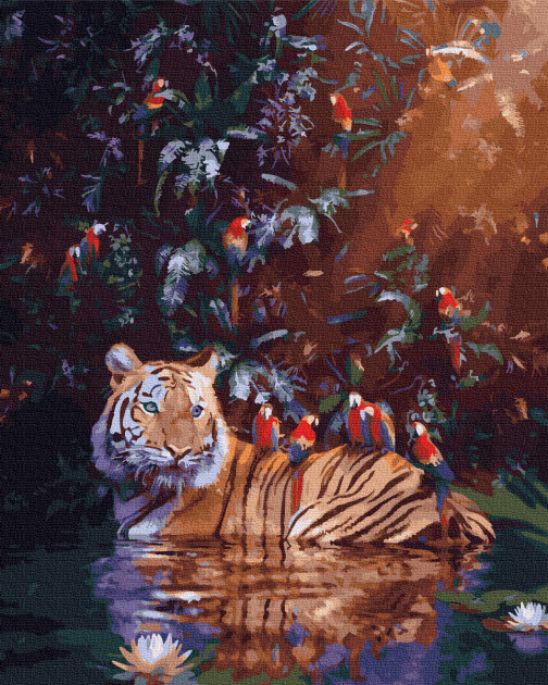 "Картина по номерам. Rainbow Art ""Утренние ванны"" GX35443-RA"