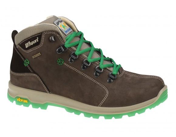 Ботинки кожаные, термо, мужские Grisport GriTex 12905N15G Италия,  гриспорт, непромокаемые, зимние