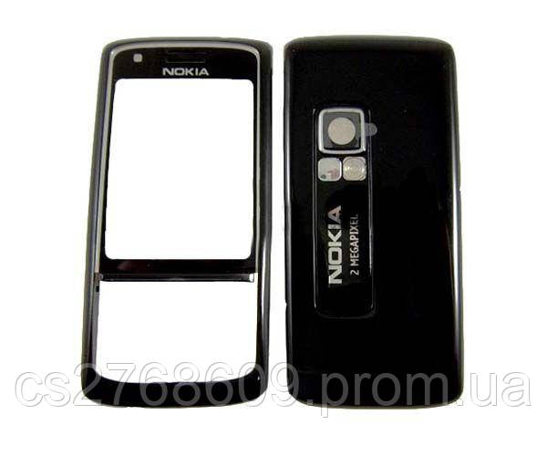 "Корпус ""High Copy"" Nokia 6288 (black) + клаві"