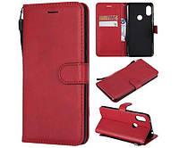 Чехол книжка Flip Cover Samsung S5 mini, G800 червоний