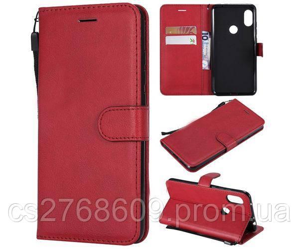 Чехол книжка Flip Cover Samsung G850 червоний