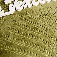 Плед  Мікрофібра хакі Євро розмір (200*220см)