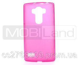 """Чехол силікон """"S"""" LG G4s, H734 рожевий"""