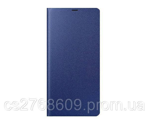Чехол книжка Flip Cover Samsung I9190 синій з вікн