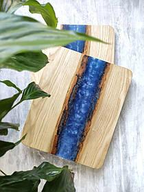 """Доска деревянная для подачи блюд """" Океан"""""""
