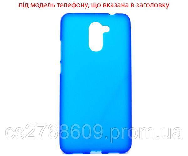 """Чехол силікон """"S"""" LG Magna синій"""