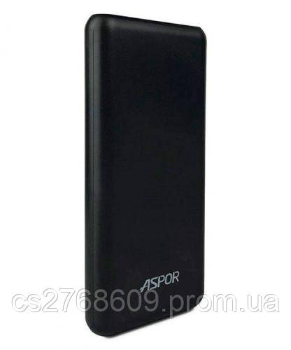 "PowerBank ""Aspor"" A327 16000 mah IQ (2USB/1A+2.0A) (black)"