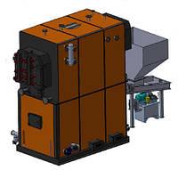 Котел твердотопливный CETIK EKO MG-1 500 кВт (1,5 МВт)