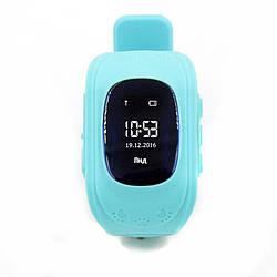 Фитнес-трекер для Детские смарт-часы GoGPS ME К50 Бирюзовый (К50БЗ)