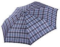 Зонт Три Слона в клетку ( полный автомат, ЛЕГКИЙ ) арт.L3767-19, фото 1
