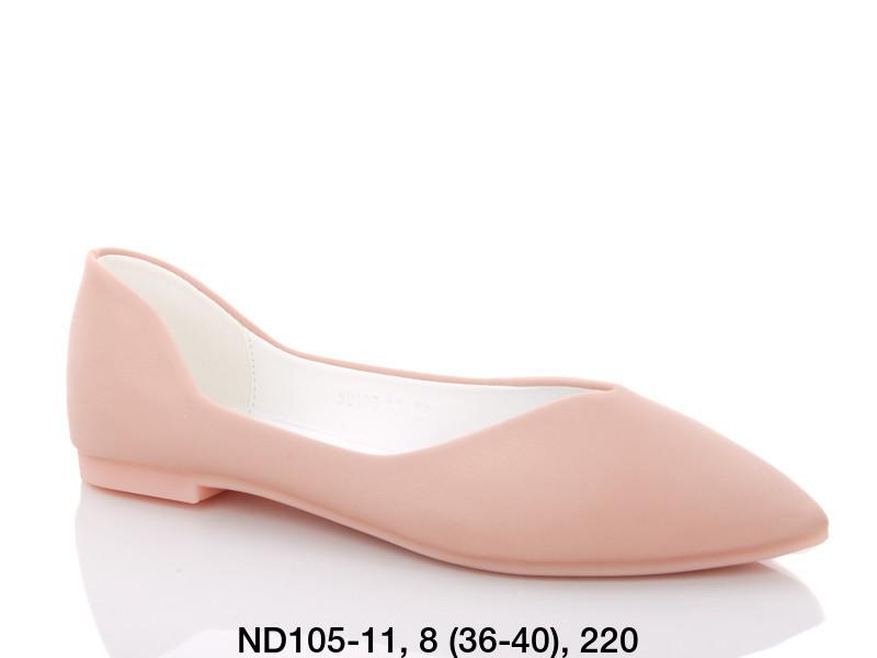 Балетки женские розовые Teetspace-Trasta-Egga-ND105-11