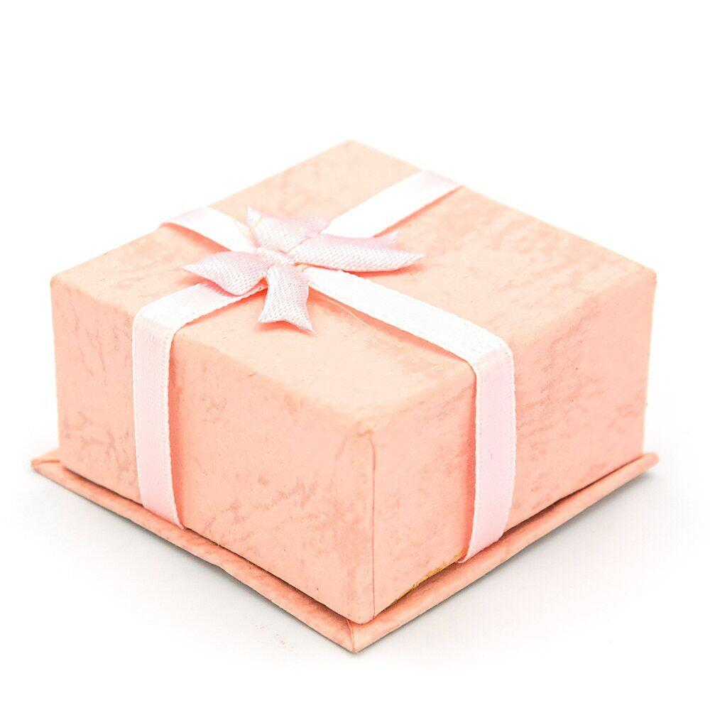 Коробочка подарочная для бижутерии 5 х 3 см, Розовая