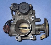 Дроссельная заслонка механ -03Nissan Almera N16 1.5 16V2000-2006161195M400 , 161195M402