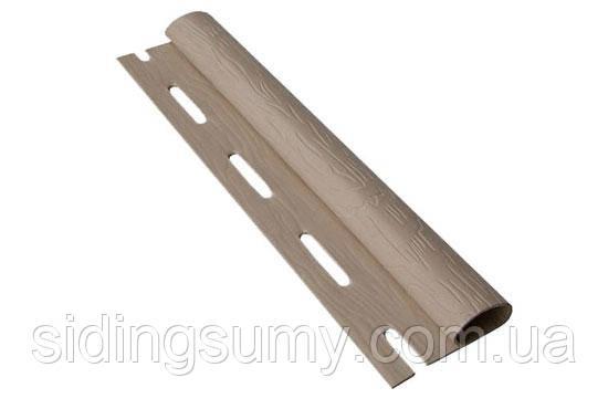 Старт-фінішна планка горіх для стінового сайдинга 3,66 м