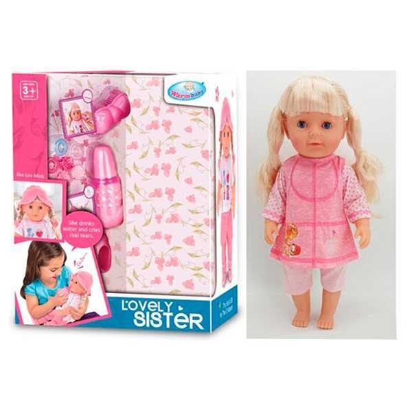"""Кукла - пупс функциональная """"Любимая сестричка"""" WZJ 016-531"""