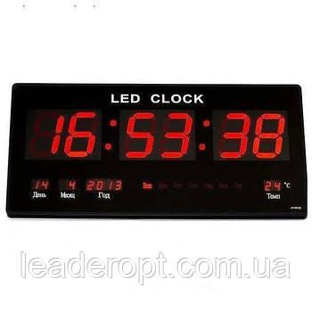ОПТ Електронні настінні годинник VST-3615 RED