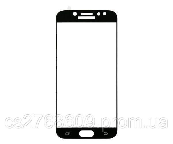 Защитное стекло захисне скло Samsung J250, J2 2018 чорний 5D (тех.пак)