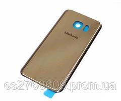 "Задня кришка Samsung G930, S7 (gold) ""High Copy"""
