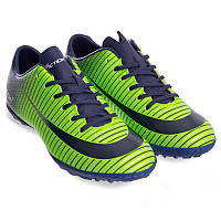 Распродажа! Сороконожки мужские Обувь для футбола Pro Action (VL17555-TF-NG) 43 размер, стелька 28,1 см