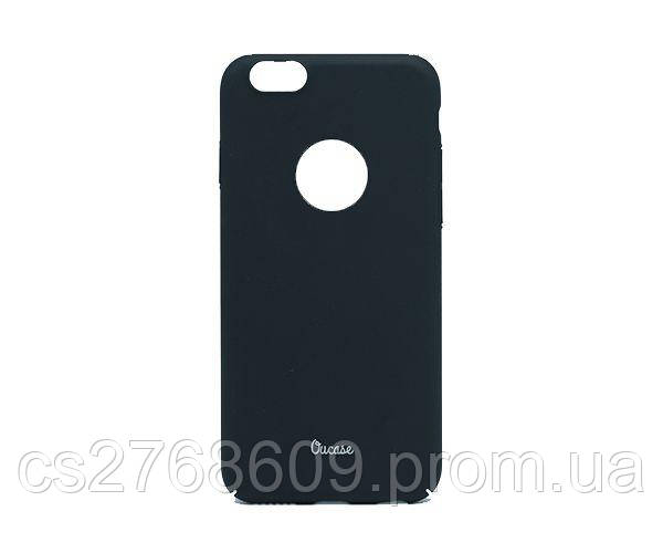 "Чехол силікон ""VIP"" iPhone 6 чорний пластик"