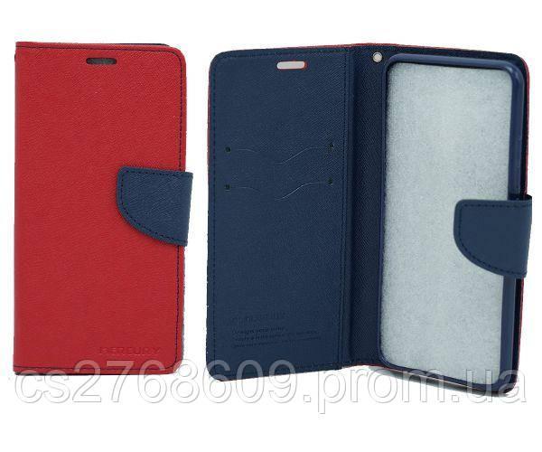 Чехол книжка Goospery Lenovo A7010 червоний