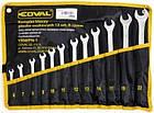 Набор рожковых накидных ключей Coval 6-22 мм 12 шт, фото 2