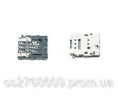 "Sim connector Samsung S6 Edge G925F, A6 2018, J330, J530, J730 ""Original"""