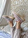 Женские кроссовки Adidas Yeezy Boost 350 в стиле адидас изи буст РОЗОВЫЕ РЕФЛЕКТИВ (Реплика ААА+), фото 3
