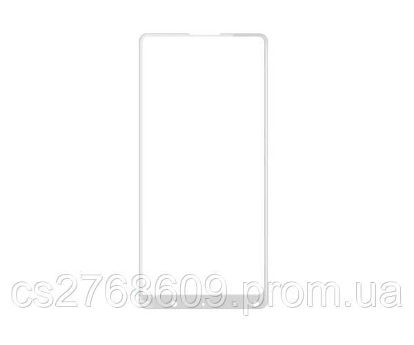 Защитное стекло захисне скло Xiaomi Mi Mix 2/2S білий (тех.пак)