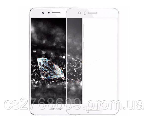 Защитное стекло захисне скло Huawei Honor 8, FRD-L09 білий (тех.пак)