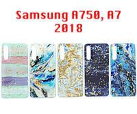 """Чехол силікон """"Art"""" Samsung A750, A7 2018"""