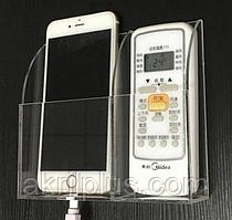 Настенный держатель для пульта и телефона