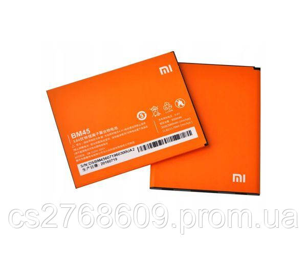 "Акумулятор Батарея ""100% Original"" Xiaomi BM45, Redmi Note 2"