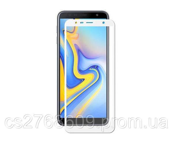 Защитное стекло захисне скло Samsung J415, J4 Plus 2018, J610, J6 Plus 2018 білий (тех.пак)