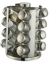 Набор для специй на подставке из нержавеющей стали 17 предметов Edenberg EB-4022