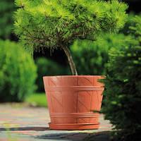 Горшок для цветов Form-Plastic Дерево ЭЛЬБА-7 терракот 36 л (0906-010)