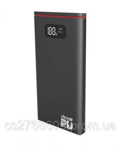 "PowerBank ""Aspor"" Q389 NEW 10000 mah (Qualcomm 3.0 Type C/Micro output:3A) metal (black)"