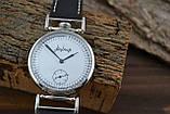 Часы Молния, наручные. Механизм советский, от карманной Молнии, 3602, фото 6