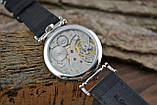 Часы Молния, наручные. Механизм советский, от карманной Молнии, 3602, фото 10