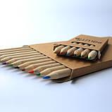 Набор цветных карандашей из 6 цветов., фото 2