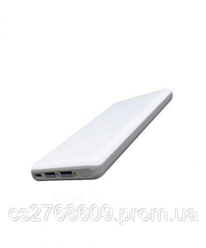 """PowerBank """"Aspor"""" A326 10000 mah IQ (2USB/1A+2.0A) (white)"""
