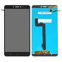 Модуль (сенсор+дисплей) для Xiaomi MI Max 2 чорний, фото 2