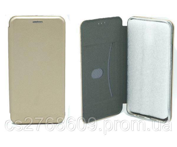 "Чехол книжка ""MANOSS"" Huawei Mate 20 Pro золотий"