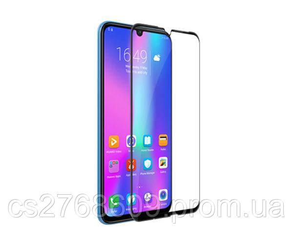 Защитное стекло захисне скло Huawei Honor 10, COL-L29 чорний (тех.пак)