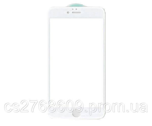 Защитное стекло захисне скло iPhone 6 Plus, Iphone 6S Plus білий 6D (тех.пак)