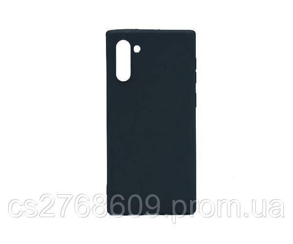 "Чехол силікон ""VIP"" Samsung Note 10, N970 чорний"
