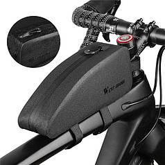 Сумка велосипедная на раму West Biking 0707212 Black горизонтальная для ключей